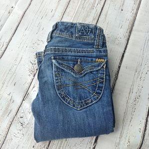 AEROPOSTALE | Hailey Skinny Flare Short Jeans